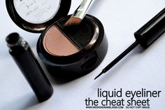 Makeup How-to's: Liquid Eye Liners