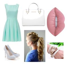 """Gotta meet his parents sometime"" by chrisss-227 on Polyvore featuring Kate Spade, Lipsy, Michael Kors and Lime Crime"