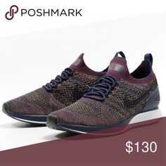 Nike Air Zoom Mariah Flyknit Size 9.5 Sneakers Nike Men's Shoes Air Zoom Mariah Flyknit Racer College Navy Bordeaux 918264-401 Size 9.5 New without box Nike Shoes Sneakers