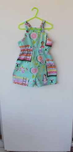 Culotte dress for a 5 year old. Gift idea. by DottyBirdKidsClothes on Etsy