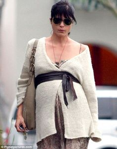 013920c80 Selma Blair in  Special  Maternity Belt . See more pictures of Selma in