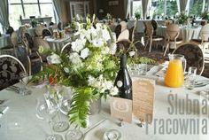 dekoracje kwiatowe stołów weselnych