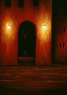 Lovecraftian Horror, Eldritch Horror, Macabre Art, Creature Concept Art, Biblical Art, Red Art, Creepy Art, Monster Art, Dark Fantasy Art