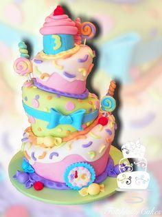 Sweet Shoppe 3rd Birthday by FaithfullyCakes