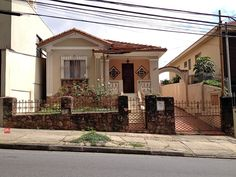 Beautiful vintage house at Tonelero Street, Sao Paulo - Brazil