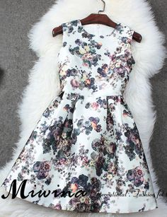 Sleeveless Pleated Dress Printed Sleeveless Pleated Dress on LuullaPrinted Sleeveless Pleated Dress on Luulla Luulla Dresses, Cute Dresses, Casual Dresses, Short Dresses, Girls Dresses, African Fashion Dresses, Fashion Outfits, Summer Outfits For Teens, Chic Dress