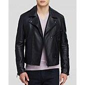 Burberry Brit Hyde Leather Biker Jacket