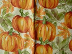 Assorted-Sizes-Vinyl-Flannel-Back-Tablecloths-Fall-pumpkins-Multi-color-Elrene