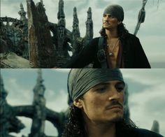 Will Turner, Davy Jones Legolas, Orlando Bloom, William Turner Pirates, Davy Jones, Pirate Life, Captain Jack, Will Turner, Good Movies, Awesome Movies