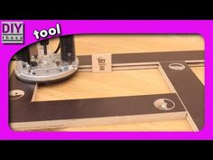 Adjustable Routing Template - YouTube