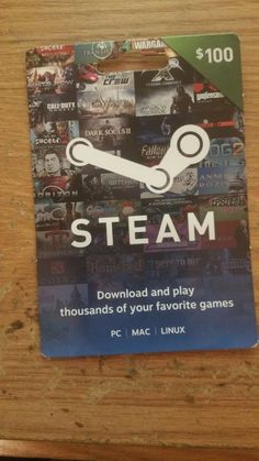Steam Gift Card – $100  http://searchpromocodes.club/steam-gift-card-100-26/