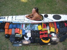 Freya Hoffmeister - How much gear can you fit in your kayak?