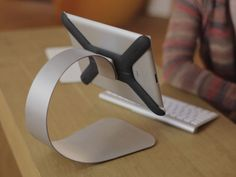"""Boomerang - First ever """"All-in-one iPad Mount & Stand"""" by Marko Cadez, via Kickstarter."""