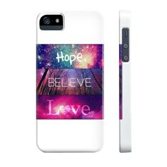 Hope Believe Love- Available in IPhone 4s-6s & Galaxy s5-s6