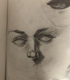 Dark Art Drawings, Art Drawings Sketches Simple, Cool Drawings, Arte Dope, Art Diary, Arte Sketchbook, Art Portfolio, Aesthetic Art, Cartoon Art