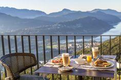 Breakfast with a view @ Kurhaus Cademario || Ticino