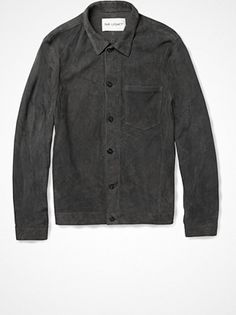 2013.04.19. THE shirt from Our Legacy. Premium suede.