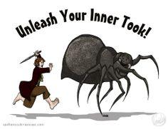 The Hobbit: Inner Took Shirt Design by wolfanita on deviantart