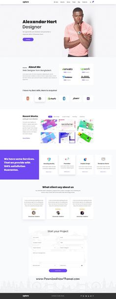 Buy Xplore - Multipurpose Website Business PSD Template by on ThemeForest. Introducing XPLORE Xplore is a beautiful, multipurpose template with trendy design web pages which responds to the mo. Simple Web Design, Web Design Tips, Design Strategy, Page Design, Modern Design, Modern Website, Custom Website, Web Design Agency, Web Design Company