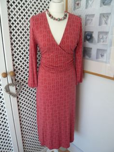 Boden Fixed Wrap Jersey Dress