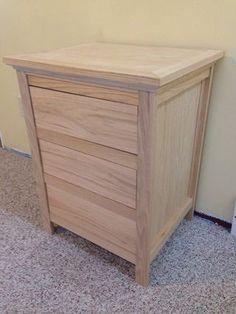 night stand with locking secret hidden drawer engraving pinterest night stand secret. Black Bedroom Furniture Sets. Home Design Ideas