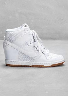 nike wedge heel sneakers