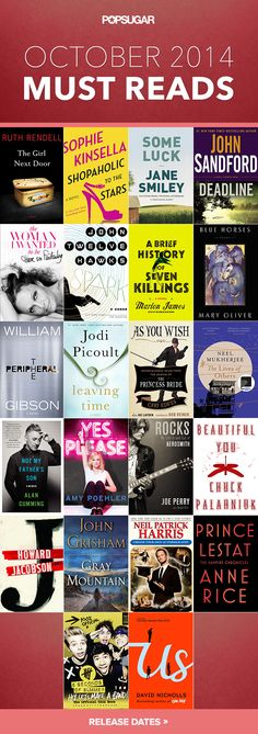The best books coming out in October!