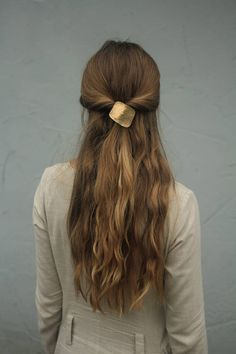 Barrette Hairstyles Prepossessing This Is My Favourite Hairstyle And That Barrette Is Just To Die For