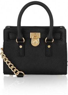 fdd222bcaf6 MICHAEL Michael Kors Hamilton mini leather shoulder bag  #Handbagsmichaelkors #michaelkorssmallshoulderbag Michael Kors Tote Bags