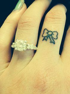 My new tattoo <3 love small tattoos