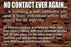 No contact and no response is essential for healing from narcissistic sociopath relationship abuse