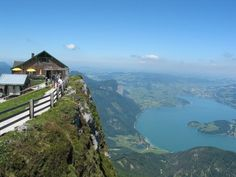 images of St. Wolfgang in Salzammergut, Austria   View from the Schafberg onto Lake Wolfgang
