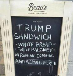 Trump sandwich - Imgur