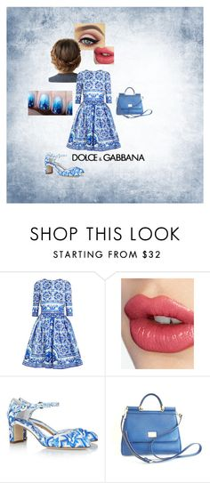 """Untitled #140"" by vic-valdez on Polyvore featuring Dolce&Gabbana and Charlotte Tilbury"