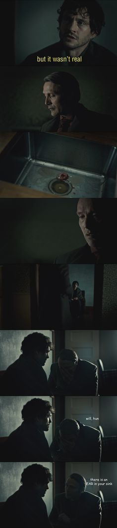 Hannibal is completely done with you, Will
