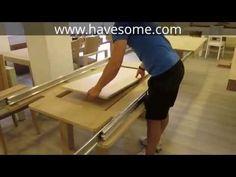 Mega Extendable Dining Table - YouTube