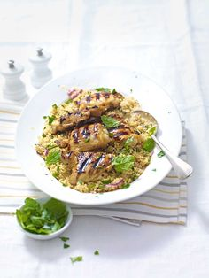 A quick, fresh and easy chicken thigh recipe made using ingredients from your storecupboard.