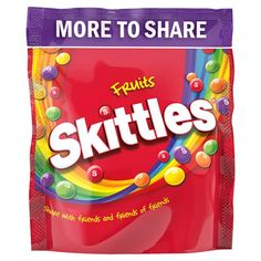 Skittles Fruit Pouch 350G - Groceries - Tesco Groceries