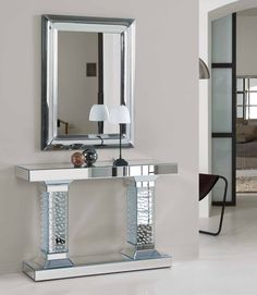 Transitional Home Decor – How Do You Select Accessories For a Room Designed in the Transitional StylE – Transitional Decor Mirrored Furniture, Accent Furniture, Home Furniture, Entryway Decor, Bedroom Decor, Sofa Table Decor, Console Design, Flur Design, Transitional Home Decor