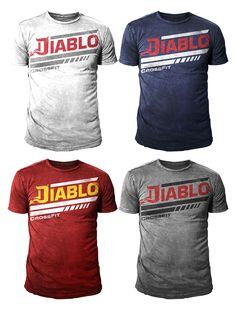T-shirt Design by 777SKY for Diablo CrossFit needs multiple designs to accentuate our logo on shirts/tanks. - Design #7906434