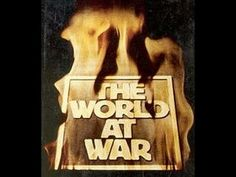 26 episode British documentary series titled 'World At War,' narrated by Sir Laurence Olivier. World War Two, The World At War, Blink Of An Eye, Great Tv Shows, Old Tv, Classic Tv, Period Dramas, Military History, Childhood Memories