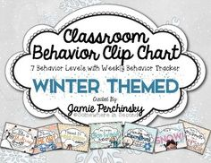 Why not spruce up your behavior chart to keep your room looking festive and your students feeling motivated after the crazy holiday season?! This set makes it simple dimple to keep your classroom behavior management going during the chilly winter months!