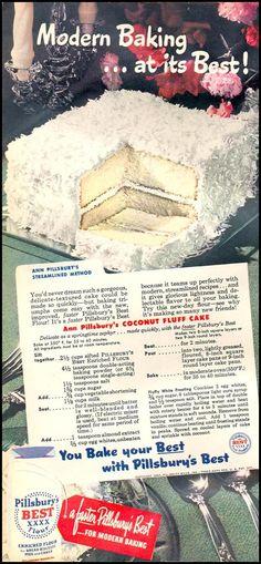 PILLSBURY'S BEST ENRICHED FLOUR WOMAN'S DAY 05/01/1947 p. 22