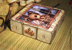 """Детская ручной работы. Ярмарка Мастеров - ручная работа Кубики для души """"Косолапые"""". Handmade."""