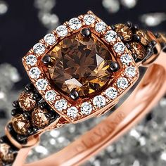 It's #NationalChocolateDay…the perfect occasion to sweeten your look with #LeVian #ChocolateDiamonds
