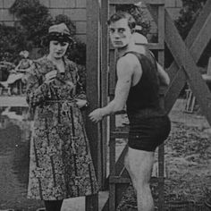 Virginia Fox and Buster in Hard Luck 1921