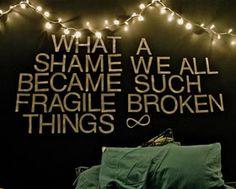 What a shame...