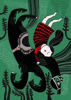 Card Illustration - Mina Braun