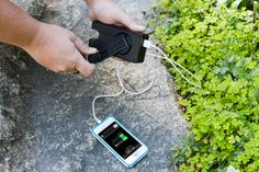 The Crankerator - Battery backup for iphone
