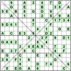 Number Logic Puzzles: 24382 - Sudoku size 16